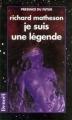 Couverture Je suis une légende Editions Denoël (Présence du futur) 1993