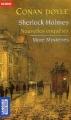 Couverture Sherlock Holmes - Nouvelles enquêtes : more mysteries Editions Pocket (Bilingue) 2004