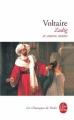 Couverture Zadig et autres contes Editions Le Livre de Poche (Les Classiques de Poche) 2001