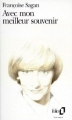 Couverture Avec mon meilleur souvenir Editions Folio  1985