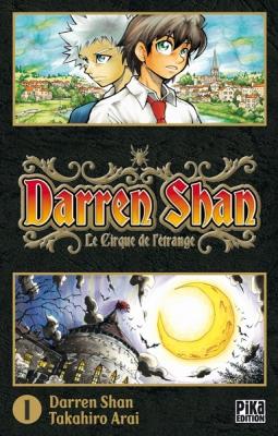 Couverture Darren Shan, tome 01 : Le cirque de l'étrange