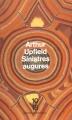 Couverture Sinistres augures Editions 10/18 1993