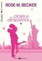 Couverture Désirs & désastres, intégrale Editions Addictives 2016