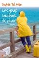 Couverture Les yeux couleur de pluie Editions Albin Michel 2016