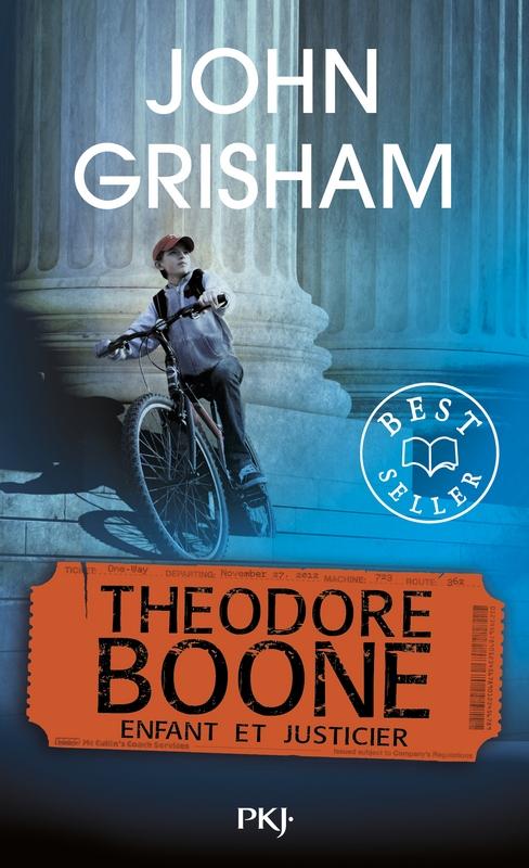 Couverture Theodore Boone, tome 1 : Enfant et justicier