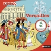 Couverture Versailles Editions Nathan (Kididoc) 2016
