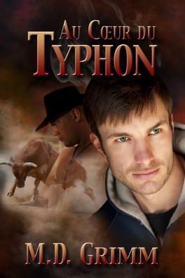 Couverture La saga des métamorphes, tome 2 : Au coeur du typhon