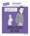 Couverture Séducteurs de rue Editions Casterman 2016