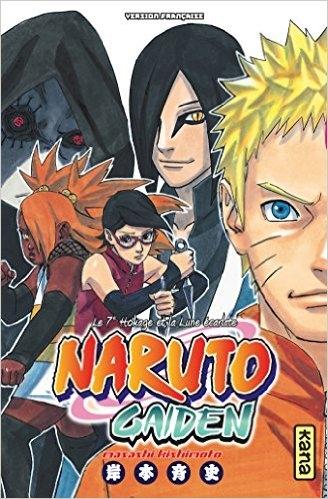 Couverture Naruto Gaiden - Le 7e Hokage et la Lune écarlate