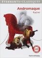 Couverture Andromaque Editions Flammarion (GF - Etonnants classiques) 2013