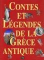 Couverture Contes et légendes de la Grèce antique Editions de Lodi 1999
