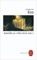"""Couverture Apostille au """"Nom de la rose"""" Editions Le Livre de Poche (Biblio essais) 2010"""