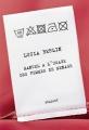 Couverture Manuel à l'usage des femmes de ménage Editions Grasset 2017