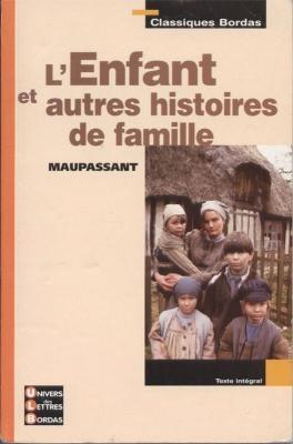 Couverture L'enfant et autres histoires de famille