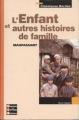 Couverture L'enfant et autres histoires de famille Editions Bordas 2003
