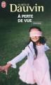 Couverture A perte de vue Editions J'ai Lu 2010