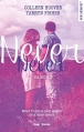 Couverture Never never, tome 3 Editions Hugo & cie (New romance) 2017