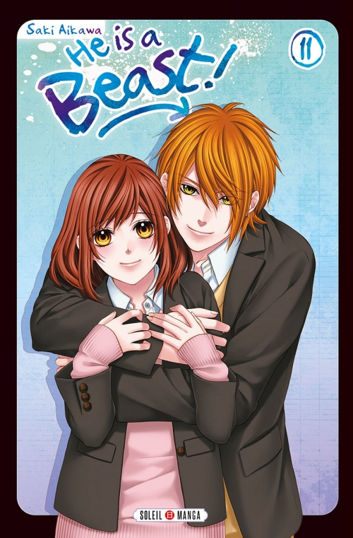 Couverture He is a beast !, tome 11