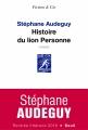 Couverture Histoire du lion Personne Editions Seuil (Fiction & cie) 2016