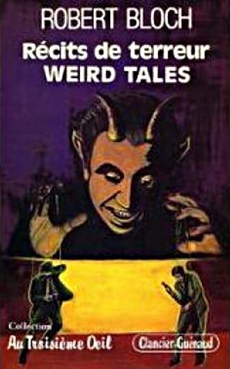 Couverture Récits de terreur Weird Tales