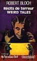 Couverture Récits de terreur Weird Tales Editions Clancier-Guenaud (Au troisième oeil) 1985