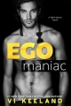 Couverture Ego Maniac Editions Everafter Romance 2017