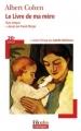 Couverture Le livre de ma mère Editions Folio  (Plus classiques) 2005