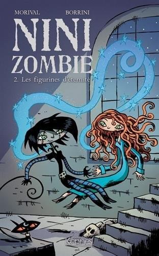 Couverture Nini Zombie, tome 2 : Les figurines d'éternité