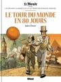 Couverture Le tour du monde en 80 jours Editions Glénat 2017