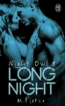 Couverture Night Owl, tome 1 : Long Night Editions J'ai Lu (Pour elle - Best) 2017