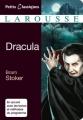Couverture Dracula, abrégé Editions Larousse (Classiques) 2012