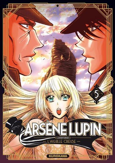 Couverture Arsène Lupin, L'aventurier, tome 5 : L'aiguille creuse : 3ème partie