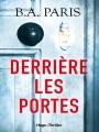 Couverture Derrière les portes Editions Hugo & cie (Thriller) 2017