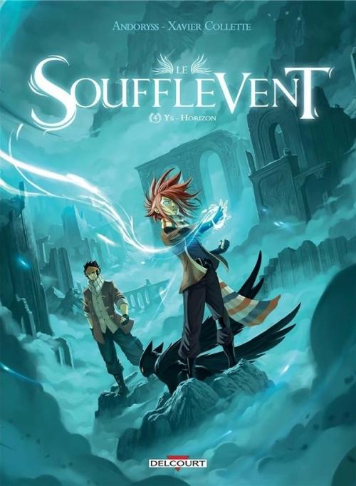 Couverture Le Soufflevent, tome 4 : Ys - Horizon