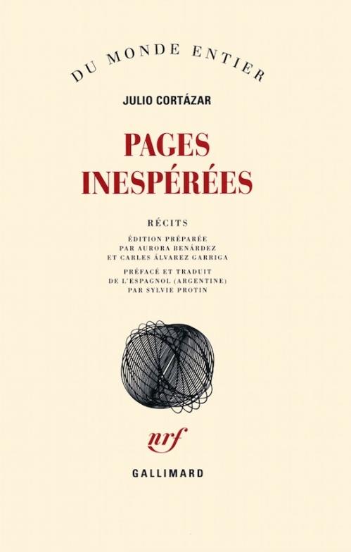 Couverture Pages inespérées