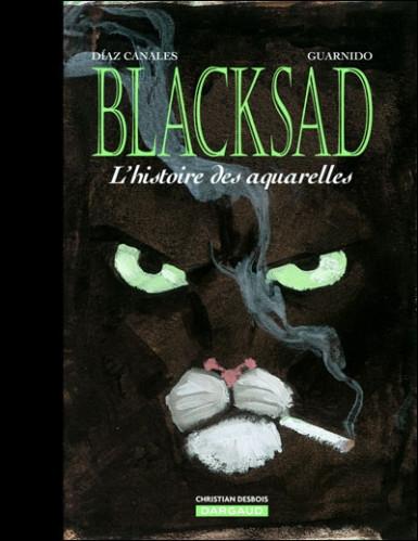 Couverture Blacksad : L'histoire des aquarelles