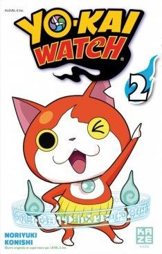 Couverture Yo-kai Watch, tome 02
