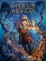 Couverture La quête d'Ewilan (BD), tome 1 :  D'un monde à l'autre Editions France Loisirs 2016