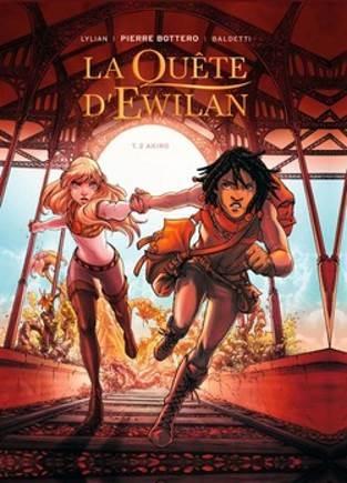 Couverture La quête d'Ewilan (BD), tome 2 : Akiro