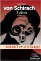 Couverture Tabou Editions Gallimard  (Du monde entier) 2016