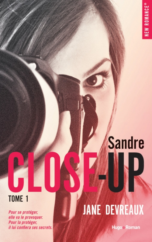 Couverture Close-up, tome 1 : Indomptable Sandre