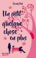 Couverture Un petit quelque chose en plus Editions Hugo & cie (New way) 2017