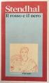 Couverture Le rouge et le noir Editions Garzanti 1983