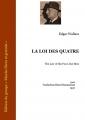 Couverture La loi des quatre Editions Ebooks libres et gratuits 2014