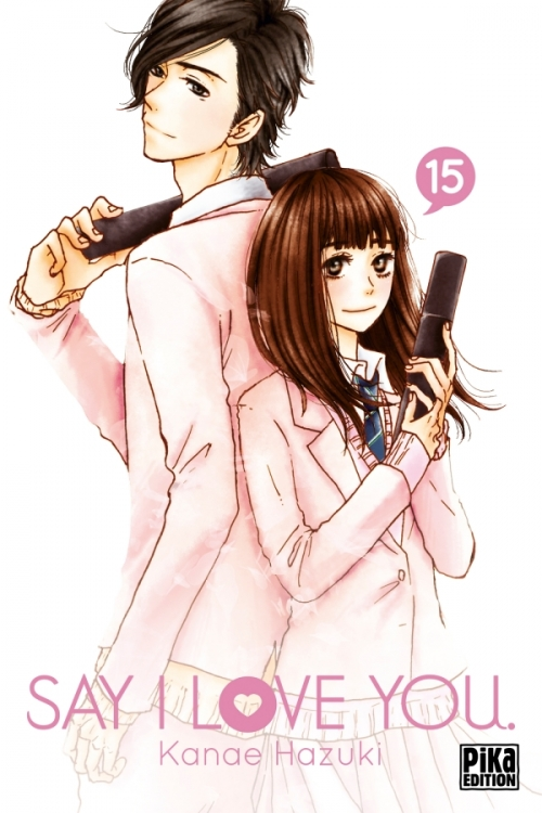 Couverture Say I Love You, tome 15