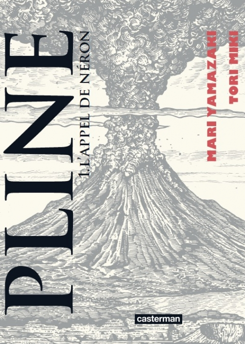 Couverture Pline, tome 1 : L'appel de Néron