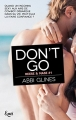 Couverture Rosemary Beach, tome 10 : Don't Go Editions JC Lattès 2017