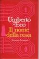 Couverture Le nom de la rose Editions Bompiani 1980