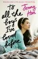 Couverture Les amours de Lara Jean, tome 1 : A tous les garçons que j'ai aimés... Editions Scholastic 2015