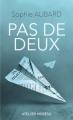 Couverture Pas de deux Editions L'Atelier Mosésu 2017